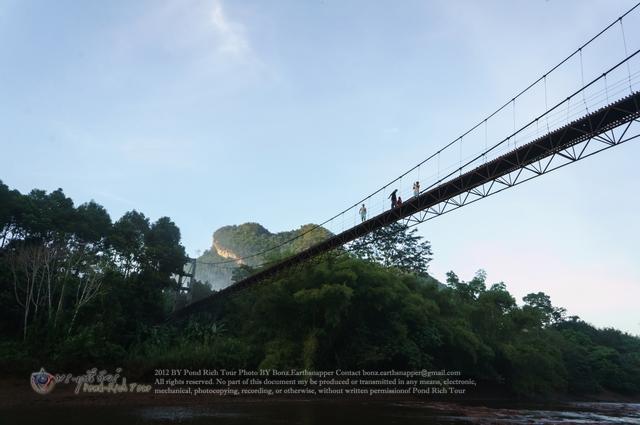 สะพานแขวน วัดเขาพัง
